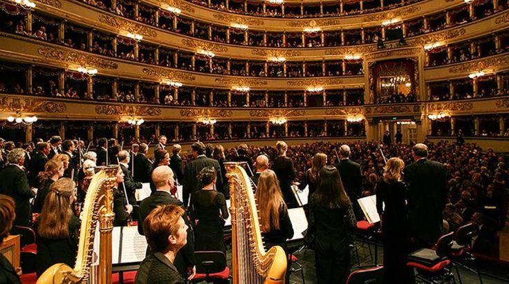Concerto al Teatro alla Scala di Milano - Concert at the Theatre alla Scala in Milan