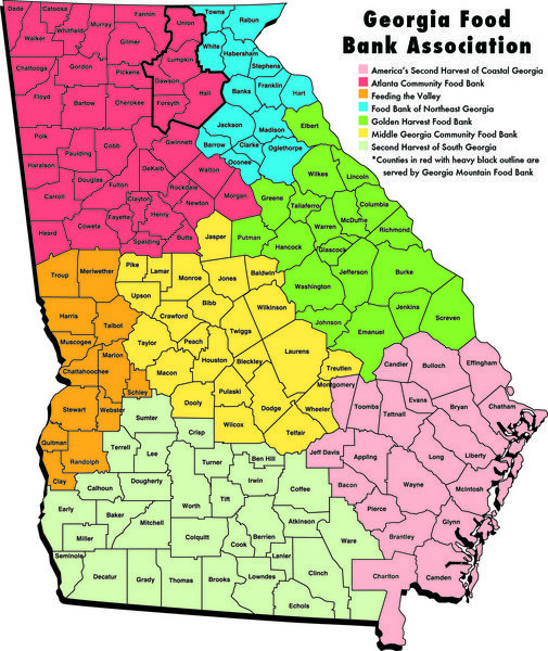 Best Georgia Images On Pinterest Georgia Atlanta And - Georgia map showing counties