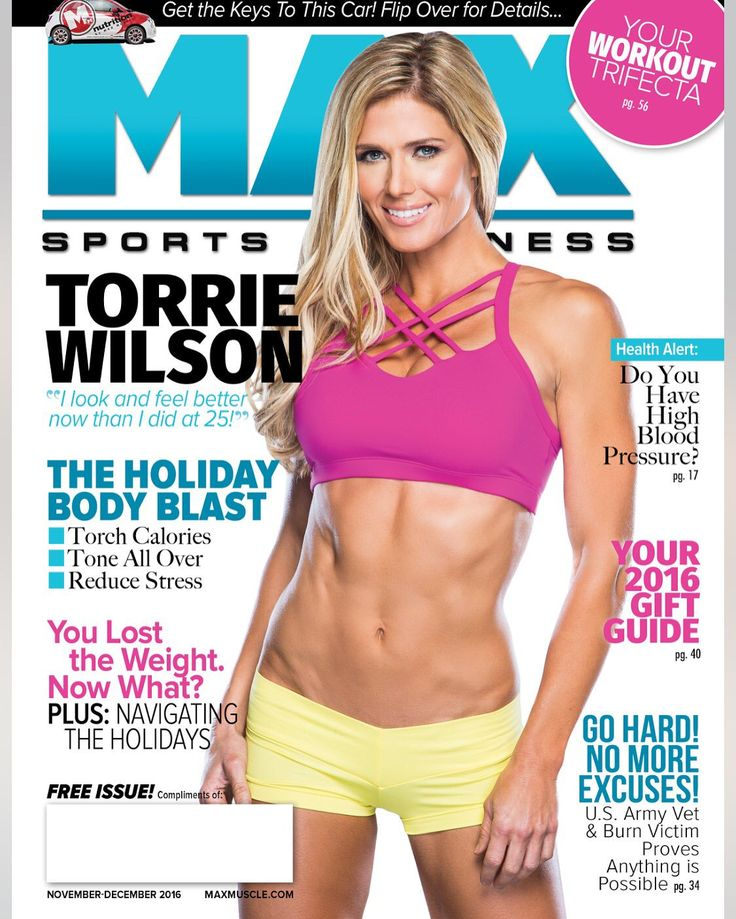 MAX Sports and Fitness - Torrie Wilson Photo by Jeffery Patrick