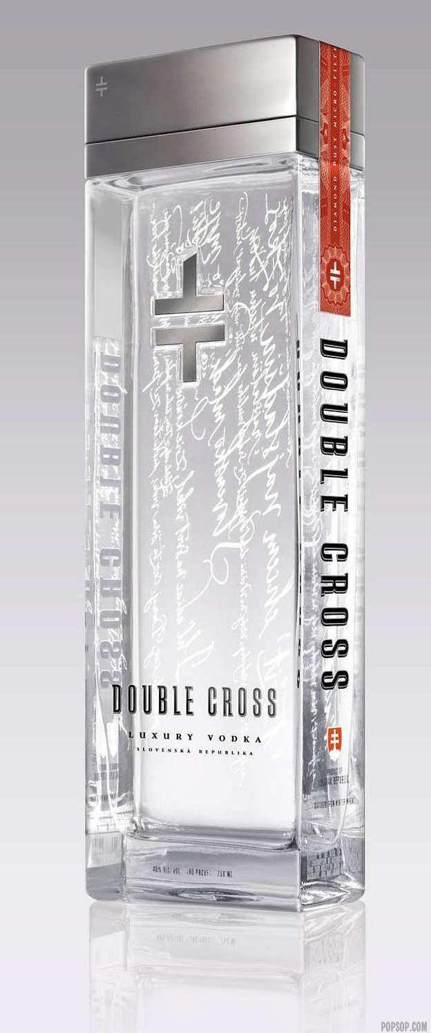 Double Cross Luxury Vodka Bottle