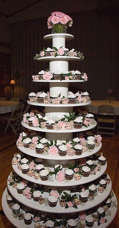 Decorated Tiered Cake Plate Cookie