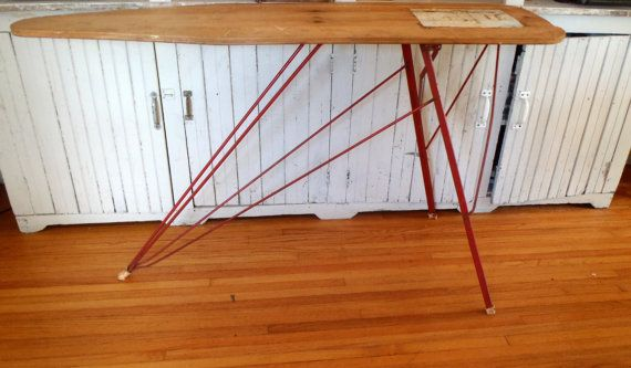 Vintage 1940s Maid of Honor Industrial Ironing Board Sears and Roebuck~~