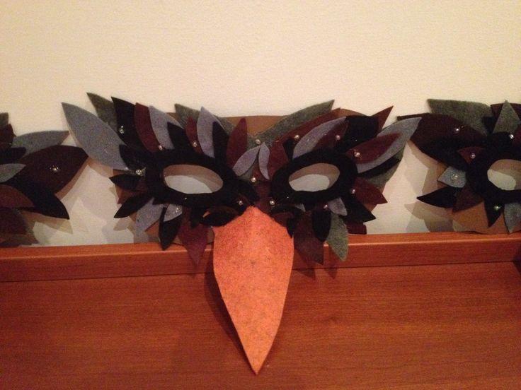 maschera uccelli recita 2015