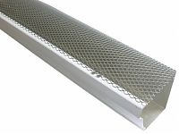 K Style Hinged Gutter Screen - Gutter Guards