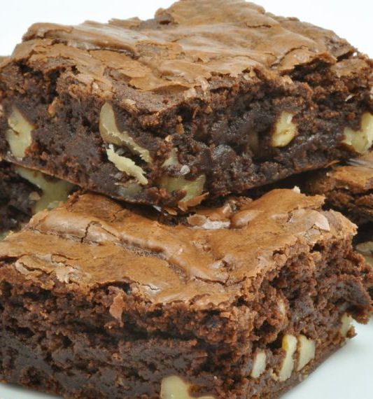 Rich Chocolate Brownie with Pecans