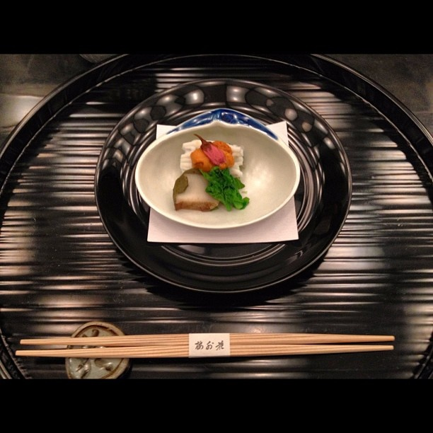 Japanese 'kaiseki' cuisine - @Joseph Cohen Mio