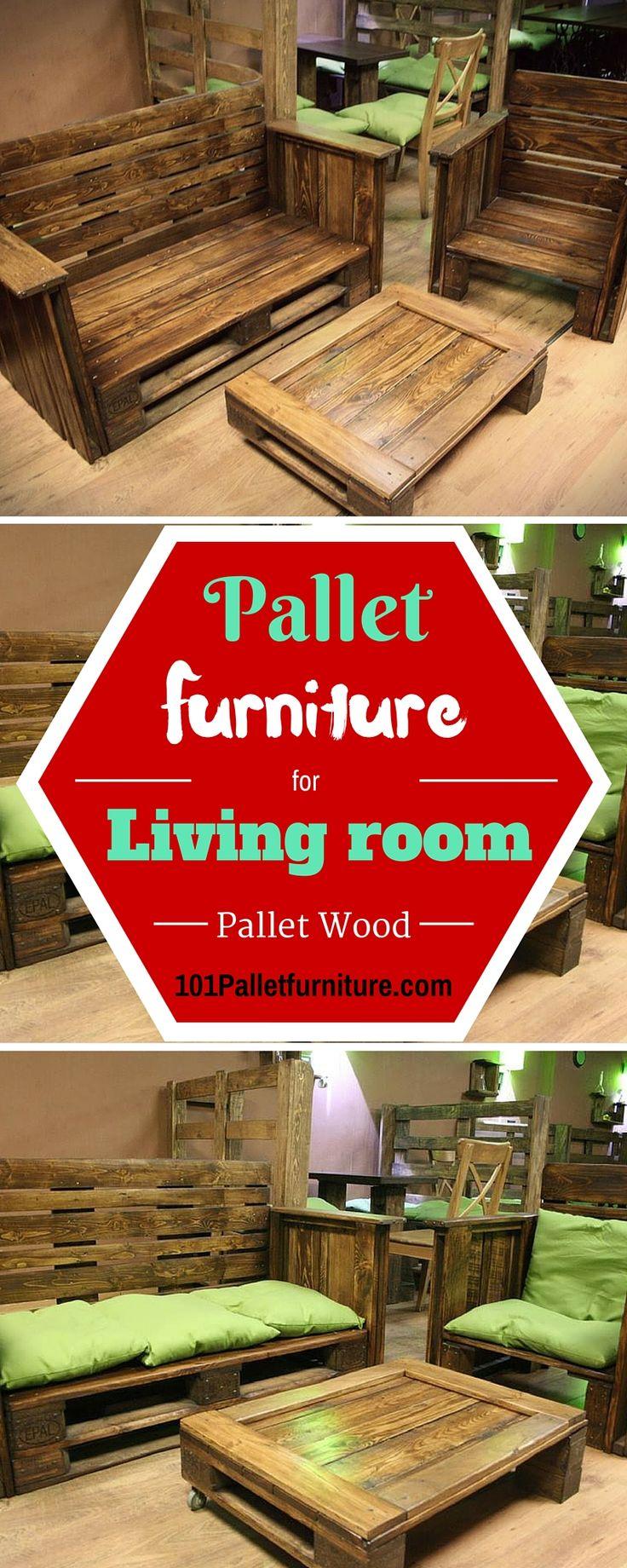 DIY #Pallet #Furniture for Living Room | Pallet Furniture