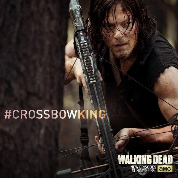 @WalkingDead_AMC All hail the king #CrossbowKing