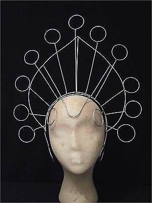 Samba Carnival Showgirl Headdress Frame large circles