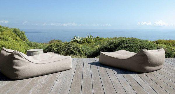 Chaise longue Float - design Francesco Rota - Paola Lenti