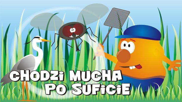 Chodzi mucha po suficie to kolejna wesoła piosenka dla dzieci.  Mucha, pająk i czapla to główni bohaterowie tej historyjki.    Zobaczcie także nasze zestawy piosenek dla dzieci:  Żaby, kaczki i inne zwierzaczki https://youtu.be/js-mcPFyhJ8    Dinuś i Przyjaciele https://youtu.be/AmbVd1o72pY    Jagódki - Polskie piosenki dla dzieci  https://youtu.be/lEHbGsj4xAc