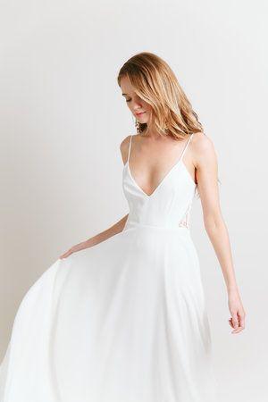 Sarah Seven - Caifornia Haze collection - Monterey gown #sarahseven #sarahsevenloveclub #bridal