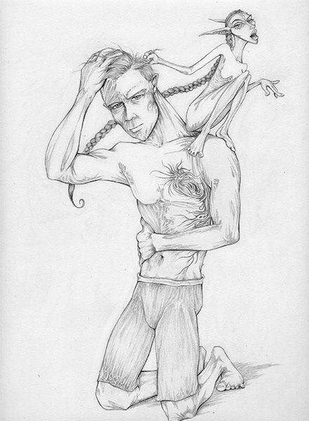 Grab your Mathew & Veronica BW. http://art-worx.com/catalog/product/view/id/108  #fantasyart #pencilfantasyartdrawings