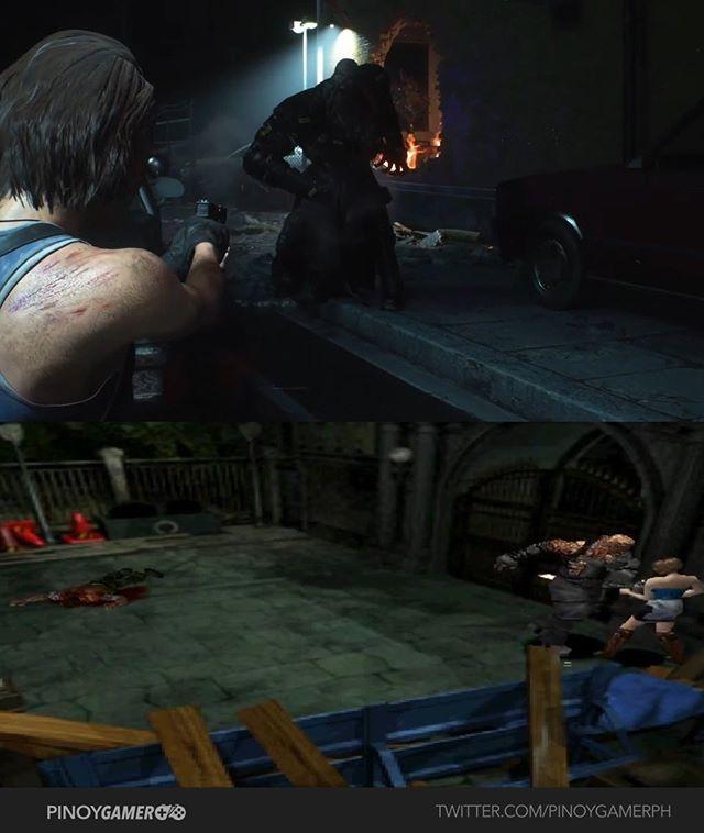 Resident Evil 3 Remake Vs Original Gameplay Comparison Part 2