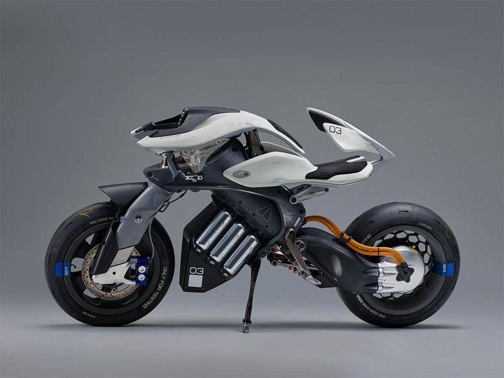 Yamaha Motoroid Concept Is A Semi Autonomous Bike That Ll Take You
