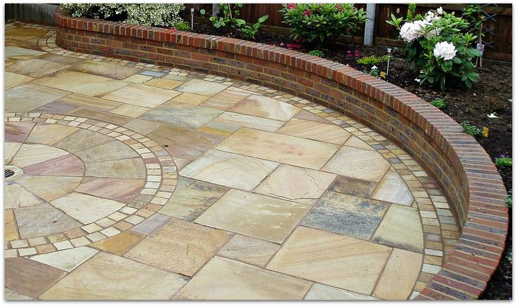 Laying Paving Slabs Patio