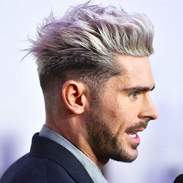 16 coole frisuren männer undercut grau | coloration