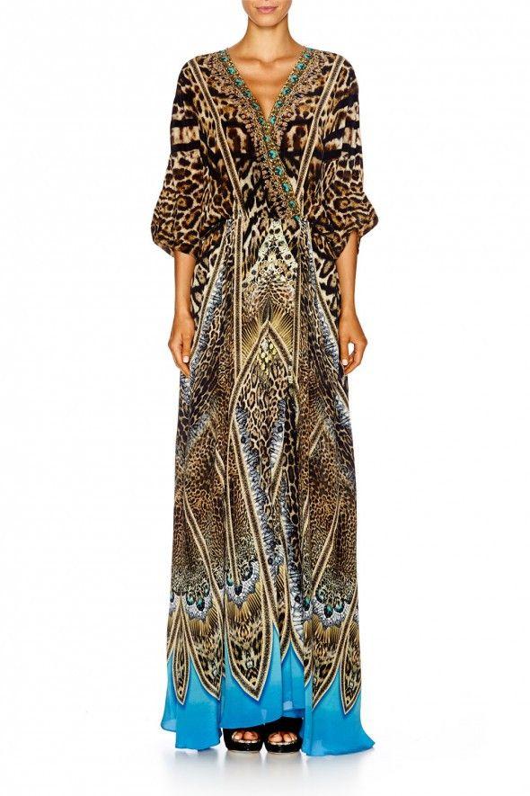 Camilla - Batwing Wrap Dress Rapturous