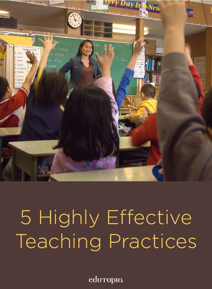 Check out these researched-based, best teaching practices and share with us the ways you already use them in your classroom.