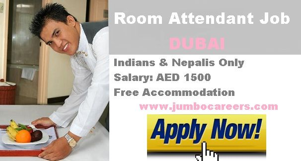 10th Pass Hotel Jobs In Dubai Housekeeping Attendant Salary In