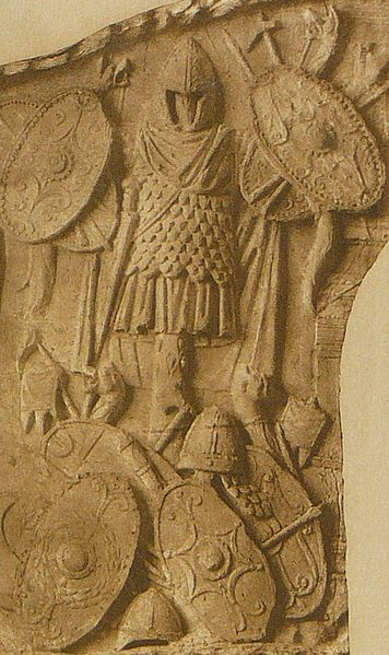 The Reliefs of Trajans Column Dacian armours