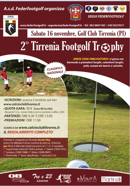 2° Tirrenia Footgolf Trophy