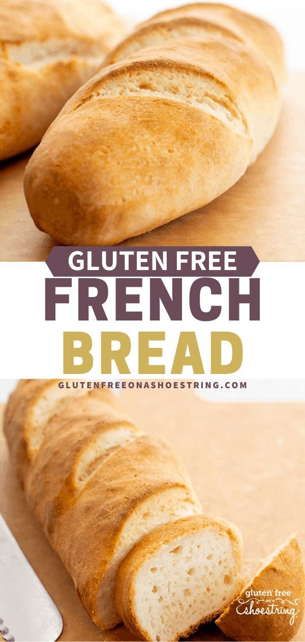 Gluten Free French Bread Baguettes In 2020 Gluten Free French Bread Gluten Free Bakery Dairy Free Bread