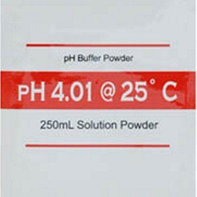 #savebig This 5 pack of pH #buffer solution powders come in pre-measured individually sealed packets. Each one of the packets makes 250 mL of 4.01 pH buffer solu...