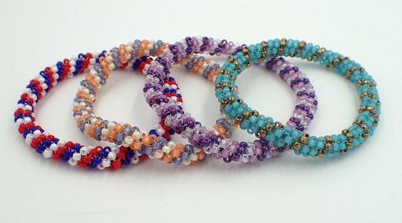 Kelly from Off the Beaded Path, in Forest City, North Carolina shows you how make a beautiful bracelet. We have materials used to make this, along with kits ...