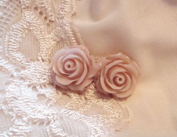 Dusty Rose Stud $9.00; comes with free gift