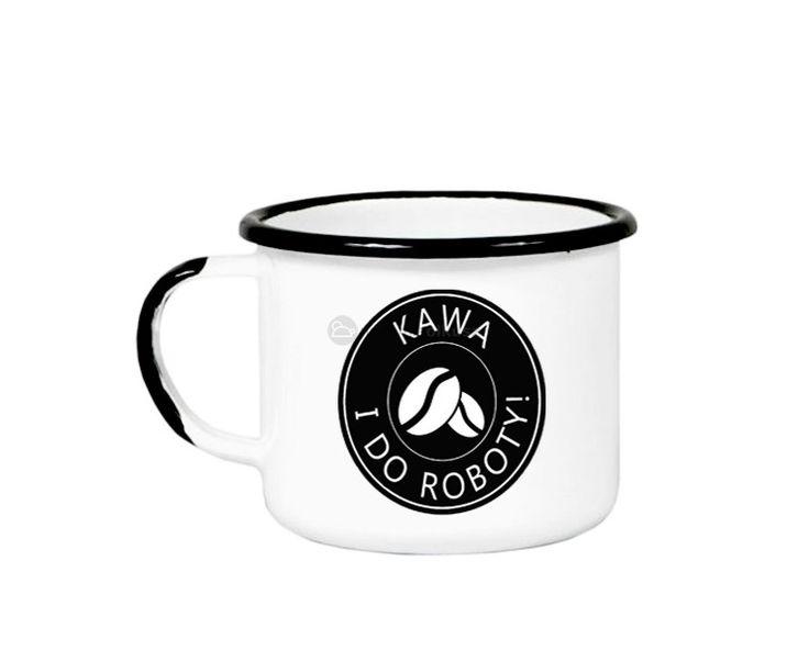 Kubek - motywator! Idealny do pracy, kupisz go w naszym sklepie w promocyjnej cenie:) #kawa #kubek #poniedziałek #robota #akcesoria #wystrójwnętrz #aranżacje #kuchnia #retro #vintage
