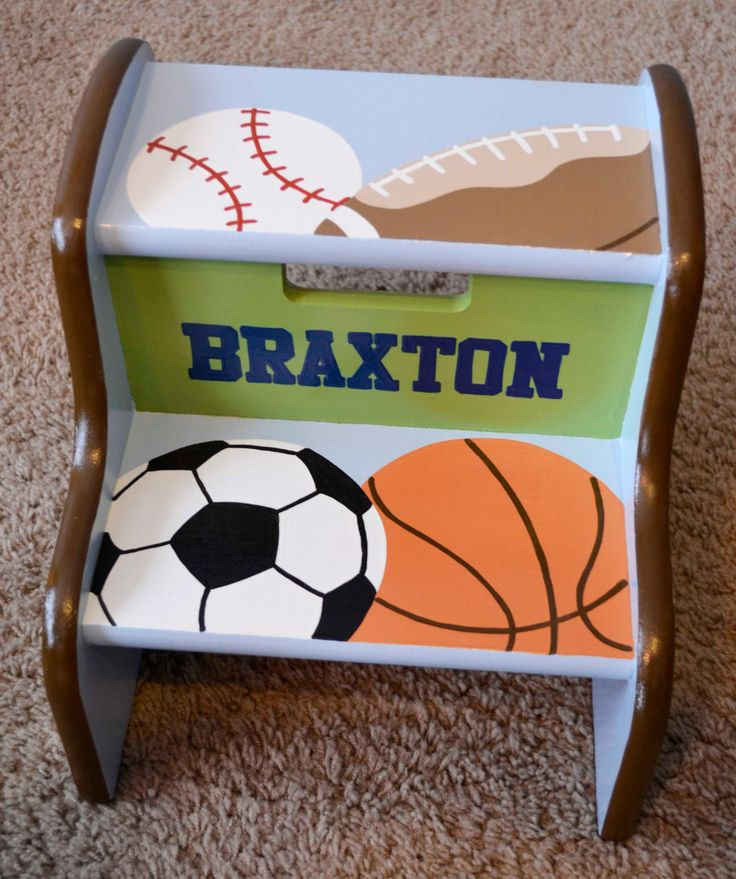 Sports Step Stool Children S Step Stool By