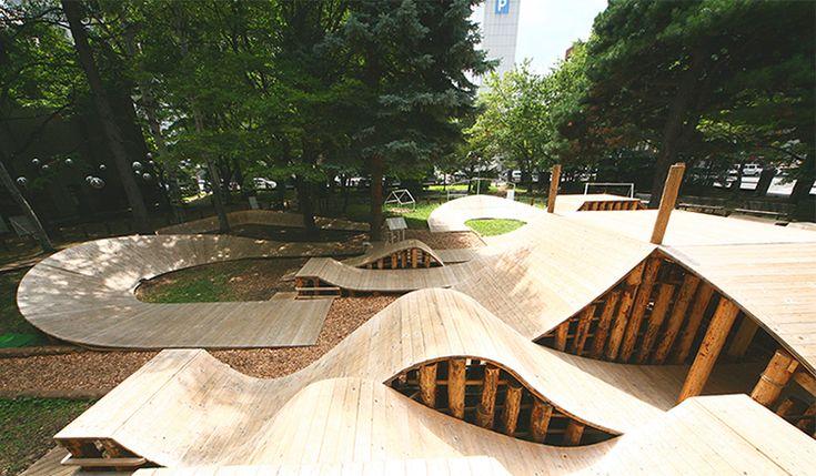 公園=森林遊樂場 札幌大通公園用最自然的方式打造城市之肺 - La Vie行動家 設計改變世界