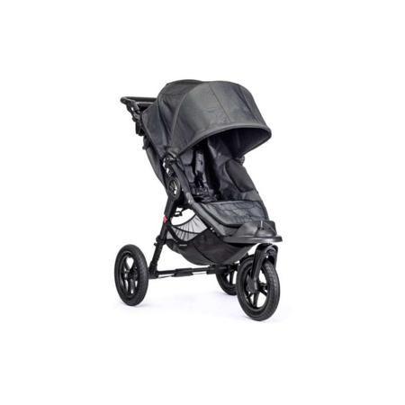 """Baby Jogger Прогулочная коляска Elite Single  — 43690р. -------- Прогулочная коляска """"Elite Single"""" тёмно-серого цвета марки Baby Jogger. Простая в использовании, легкая и ультра-компактная прогулочная коляска идеально подходит для прогулок с ребенком в любой городской местности, а также для путешествий и поездок. Трехколеснаямодель оснащена полностью лежачим положением спинки, большим капюшоном, регулируемой подножкой, бампером и вентилируемой спинкой. Одна из ключевых особенностей коляски…"""