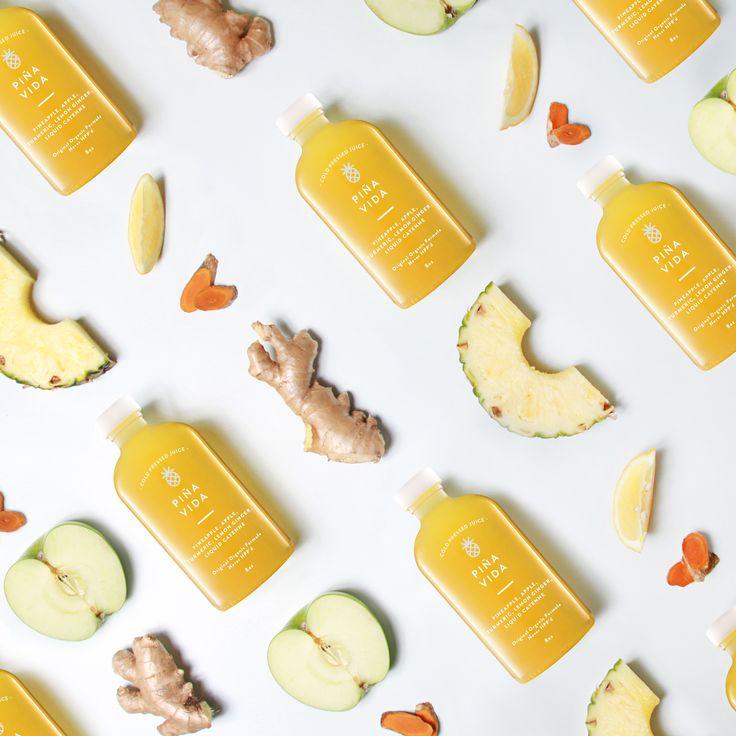 ELXR Juice Lab — The Dieline - Branding & Packaging