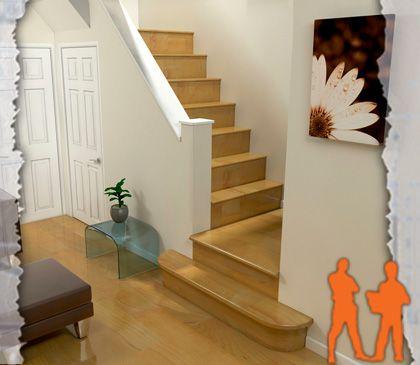M s de 25 ideas incre bles sobre ba o bajo escalera en for Bano debajo escalera diseno