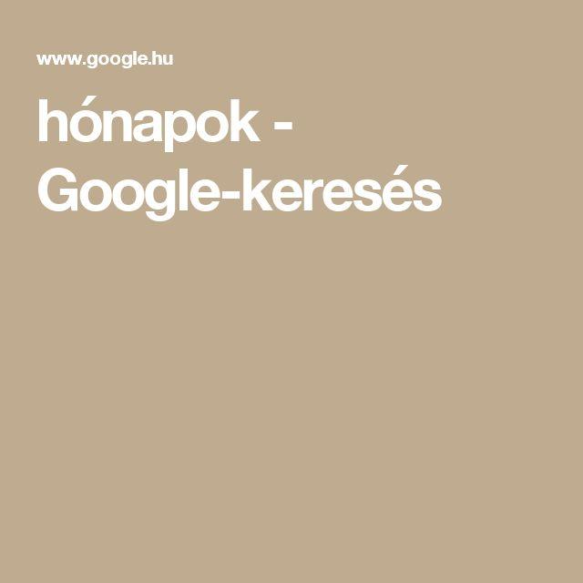 hónapok - Google-keresés