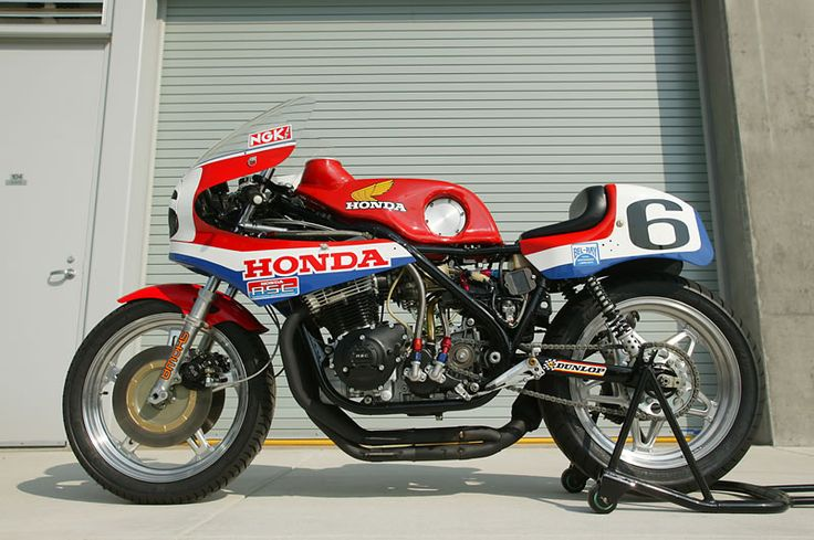 I like the appeal of endurance-race bikes… Works-Honda RCB? 1979?