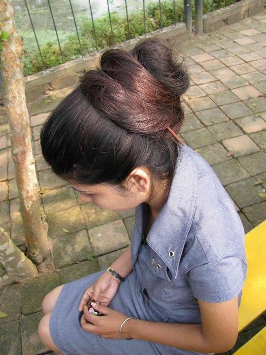 hot long hair indian girls woman