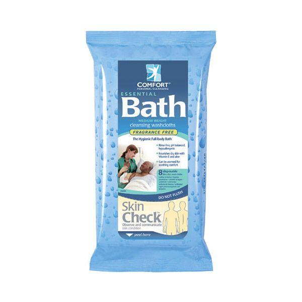 Влажные очищающие салфетки Essential Bath предназначены для проведения процедур по очищению кожи без использования воды. Салфетки гипоаллергенны, не содержат спирта, латекса, отдушек, не вызывают раздражения кожи и могут применяться на любой области тела, включая лицо. Эффективно очищают, увлажняют и смягчают кожу, нейтрализуют неприятные запахи, препятствуют размножению бактерий.