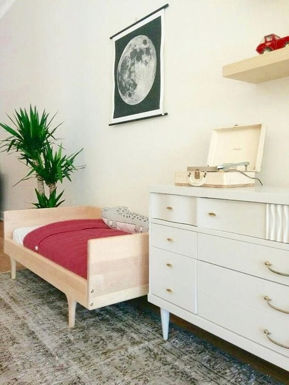 Kids bedrooms can be both comfy, functional and stylish!  Smaller-sized furniture, fun decor and plush rugs work together to create the perfect space.