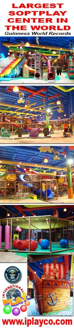 Congratulations to Billy Beez in winning the LARGEST #SoftPlay Centre in the World from #Guinness World Records.