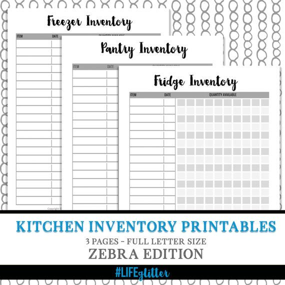 Kitchen Organization List: 1000+ Ideas About Pantry Inventory On Pinterest