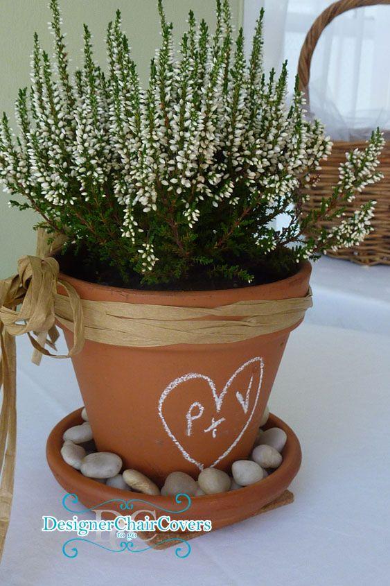 Flower Pot Center Piece