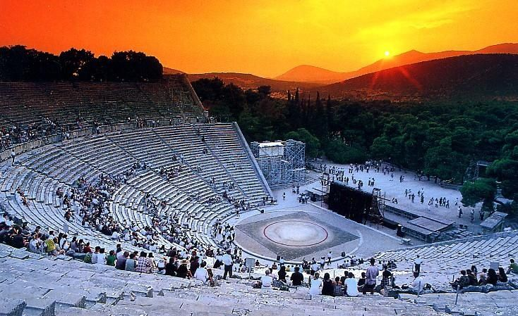 #Epidaurus lies near the sea as a silent witness of the passing of time..