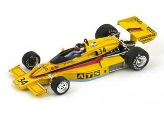 Penske PC4 No 34 (Jean-Pierre Jarier - Long Beach GP 1977) in Yellow (1:43 scale by Spark S3371)