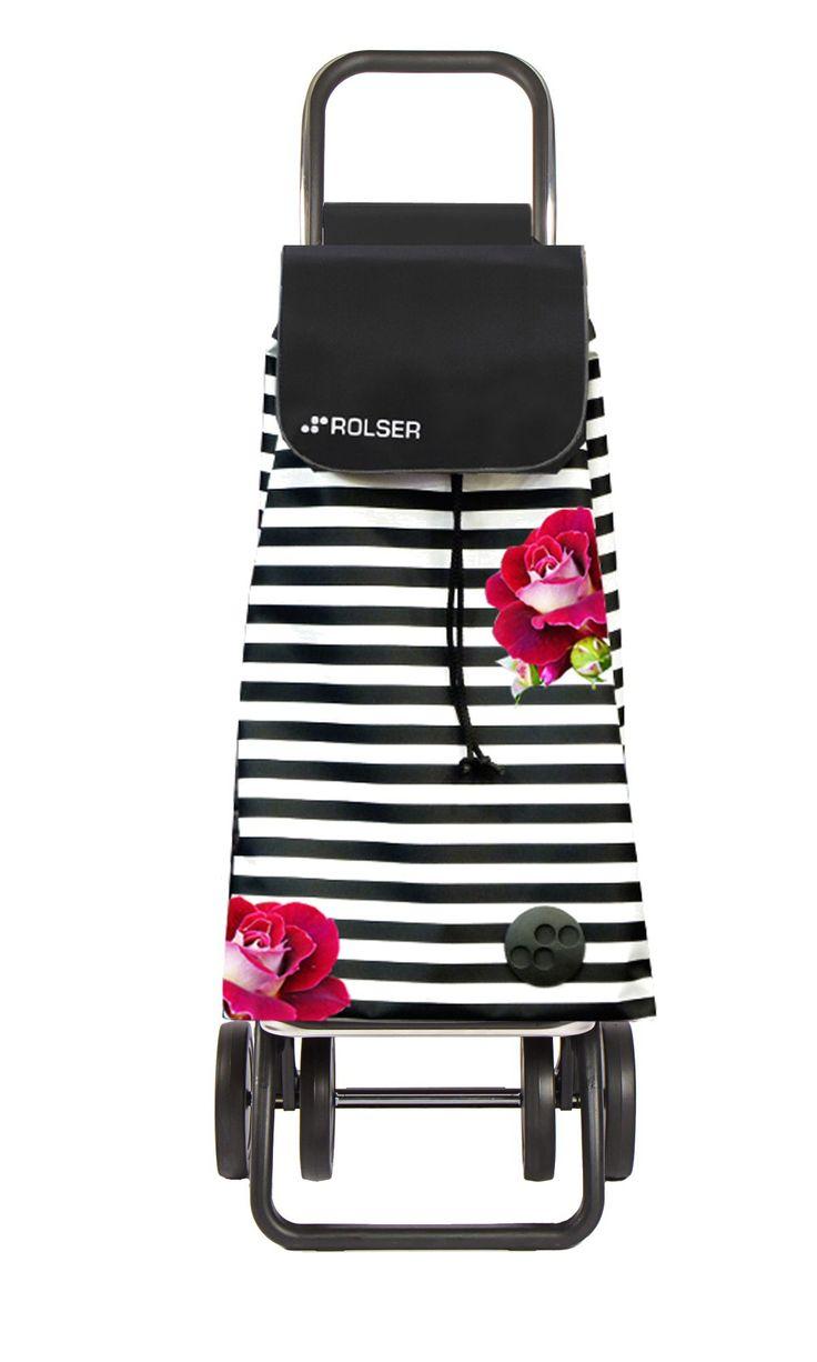 Folding Shopping Trolley Pack Rosa - La Boutique de Rolser