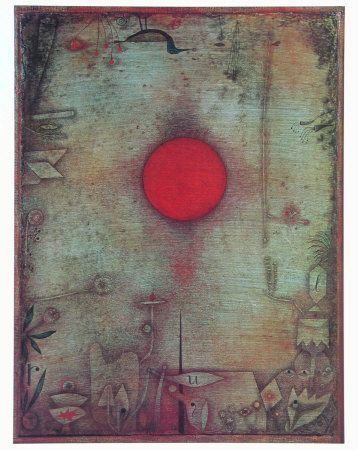 """Our ancestors worshiped the Sun, and they were not that foolish. It makes sense to revere the Sun and the stars, for we are their children."" ~ Carl Sagan Artist: Paul Klee (1930) <3 lis"