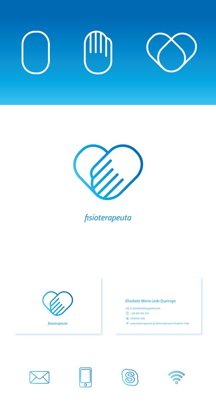 Physio Logo on Behance Great pin! For Oahu architectural