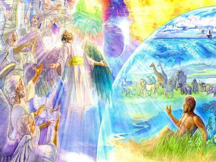 мир созданный богом картинки маленький